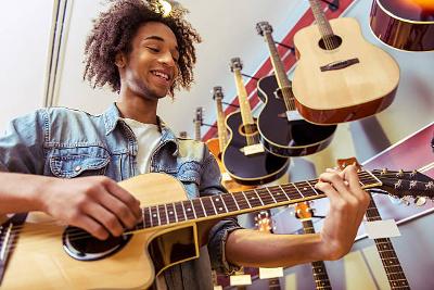výber gitary
